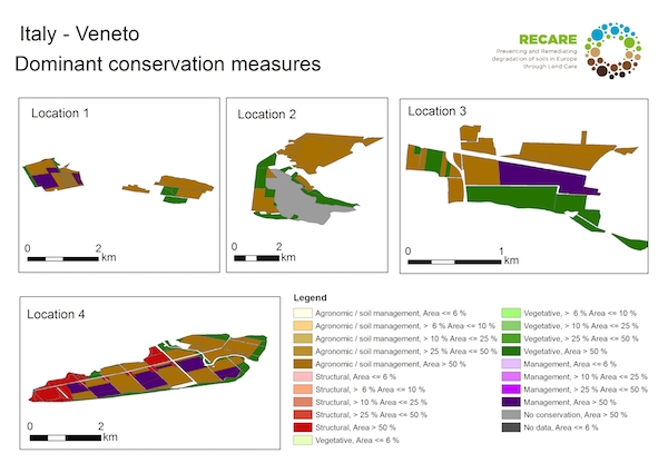 Italy Veneto dominant conservation measuresS