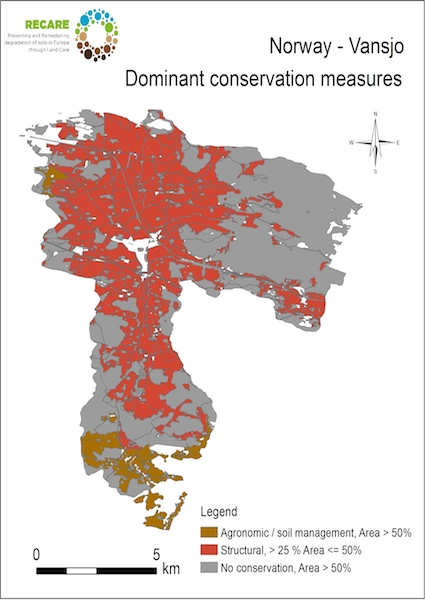 Norway Vansjo dominant conservation measuresS