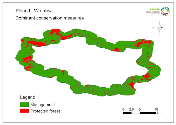 Poland Wroclaw dominant conservation measuresS