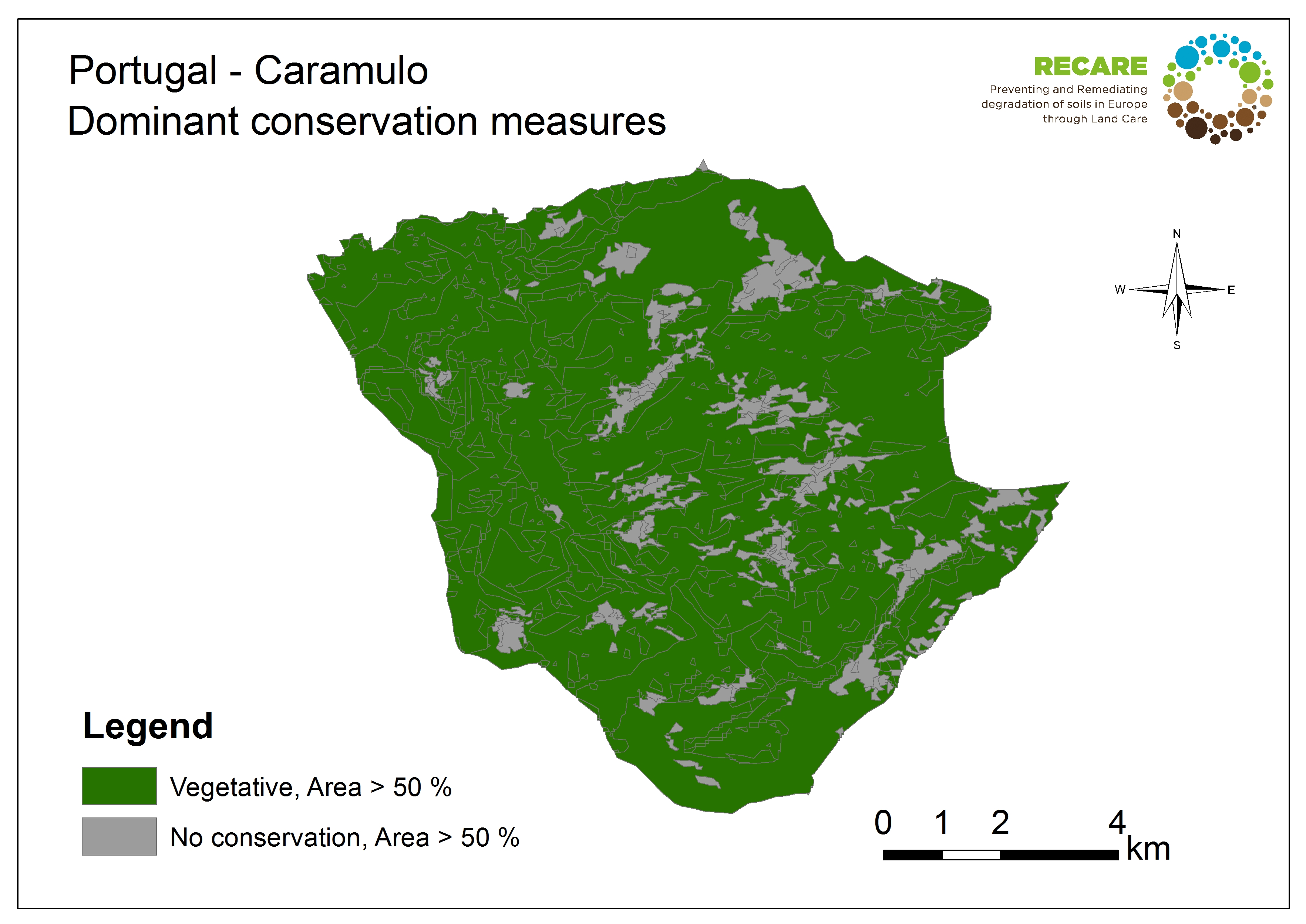 Portugal Caramulo dominant conservation measures
