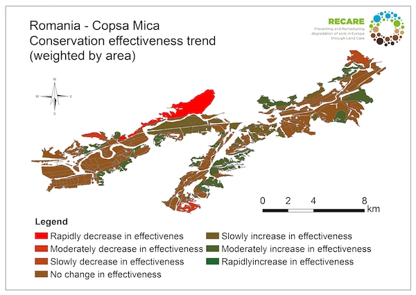 Romania Copsa Mica area trend land use system