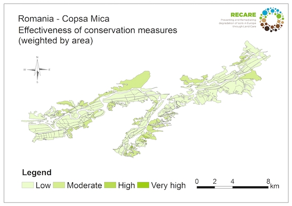 Romania Copsa Mica effectiveness of conservation measuresS