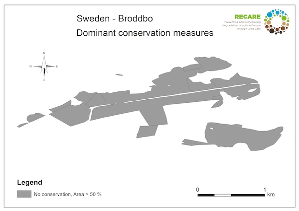 Sweden Broddbo dominant conservation measuresS