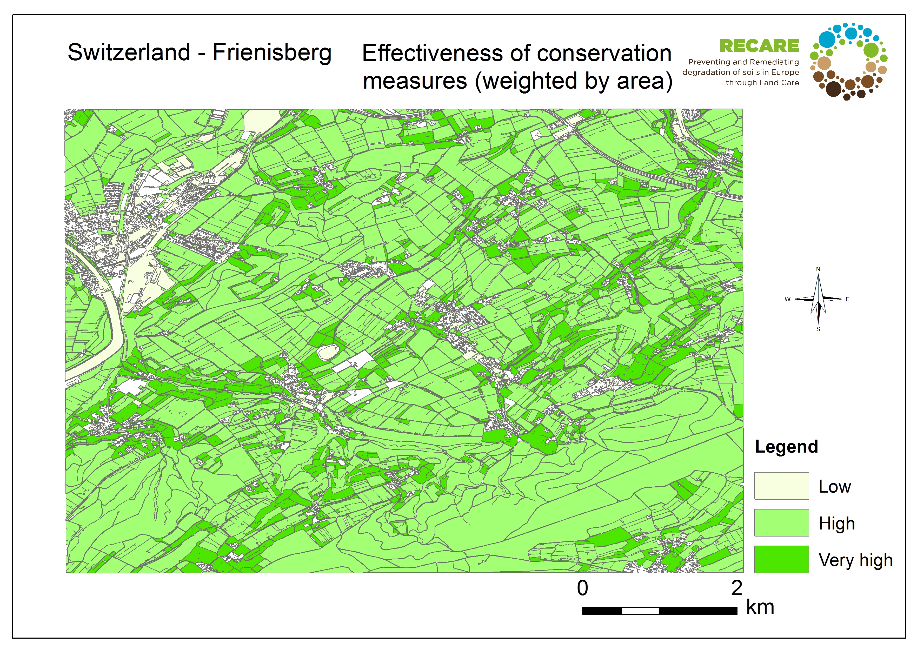 Switzerland Frienisberg effectiveness of conservation measures